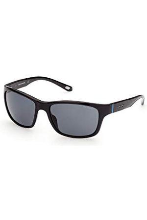 SKECHERS EYEWEAR Heren SE6117 zonnebril, mat / , 58