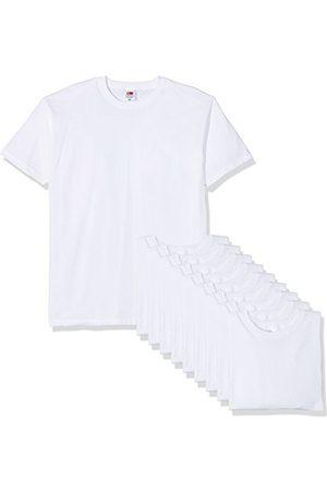 Fruit Of The Loom FRUIT VAN DE LOOM Heren Valueweight T-shirt met korte mouwen (Pack van 10)