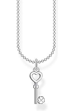 Thomas Sabo Dameshalsketting met sleutel met hart 925 sterling , 38-45 cm lengte