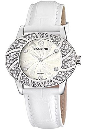 Candino Womens Analoog Klassiek Quartz Horloge met Lederen Band C4466/1
