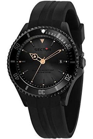 Sector No Limits R3251523001 Analoog kwartshorloge voor heren, met siliconen armband