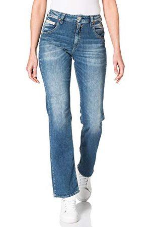 Herrlicher Prachtige dames Hi Straight Cashmere Touch Denim Jeans