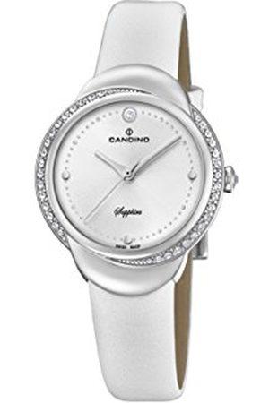Candino Womens Analoog Klassiek Quartz Horloge met Lederen Band C4623/1