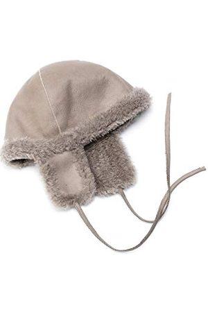 Coolskins Wintermuts voor kinderen, zacht en warm, lamsvacht met krullend haar en leer, 100% leer en Spaanse confectie voor meisjes - - One Size