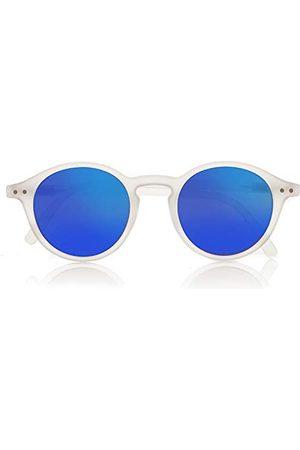 Foreyever Unisex kinderen Play zonnebril, transparant (Crystal/Blu Specchiate), 40