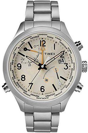 Timex TW2R43400 Kwartshorloge voor heren, multiwijzerplaat met roestvrij stalen armband