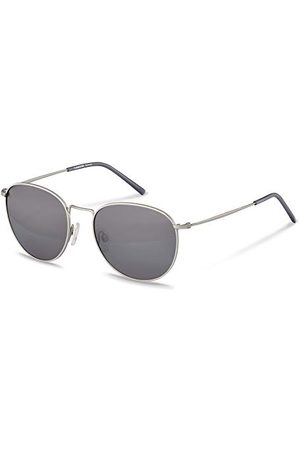 Rodenstock Zonnebril Retro Classic Sun R1426 (dames), lichtgewicht zonnebril in retrostijl, ronde zonnebril met roestvrij stalen montuur