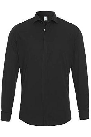 Pure Heren 3383-188 City Silver lange mouwen Tuxedo-hemd, , S