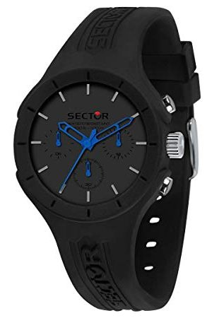 Sector No Limits herenhorloge, collectie SPEED, multifunctioneel horloge, van nylon en siliconen - R3251514014