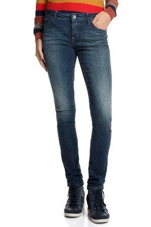 Esprit Dames jeans 093CC1B022 Five Skinny Slim Fit (rouw) lage band