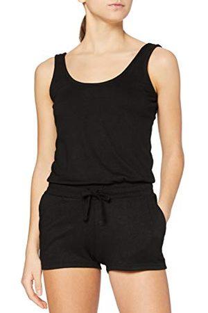Urban classics Dames Ladies Melange Hot Jumpsuit