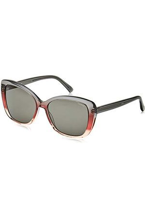 Rodenstock Zonnebril R Acetate Sun R3323 (Dames), gepolariseerde zonnebril, lichtgewicht zonnebril vlindermodel met kunststof montuur