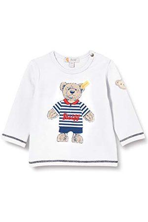 Steiff Baby-jongens met zoete teddybärapplication T-shirt lange mouwen