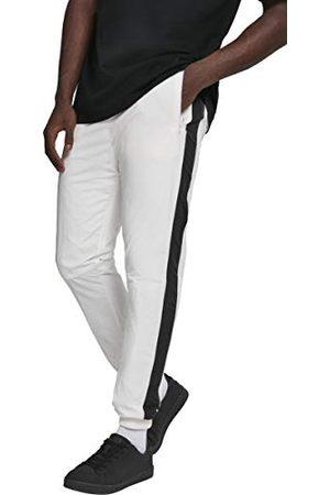 Urban classics Heren Broek Side Gestreepte Crinkle Track Pants