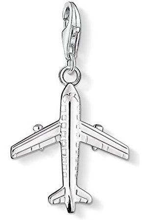 Thomas Sabo Dames-bedelhanger vliegtuig Charm Club 925 sterling 0030-001-12