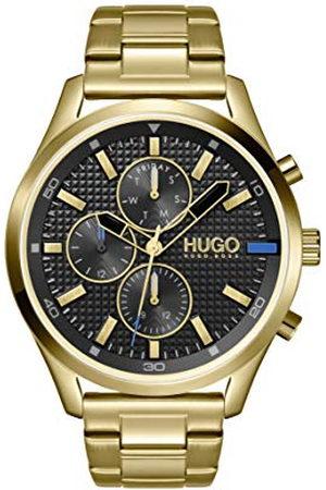 HUGO BOSS Analoog kwartshorloge voor heren met roestvrij stalen armband 1530164