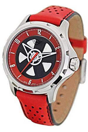 Boden Mini Unisex Adult Analoog Klassiek Quartz Horloge met Lederen Band 161101