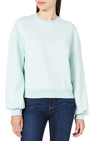 Urban classics Dames Ladies Oversized Color Melange Crewneck Pullover