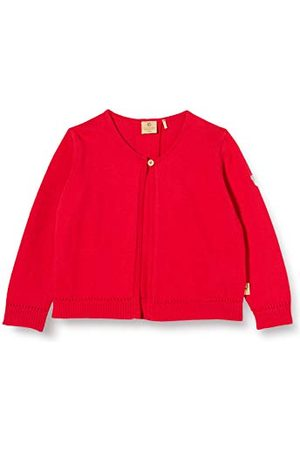 Bellybutton Mother Nature & Me Bellybutton Kids Strickjacke 1/1 Arm Vest,Rouge (True Red red 2993),74-80
