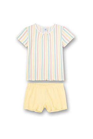 Sanetta Meisjespyjama short gestreept pyjamaset