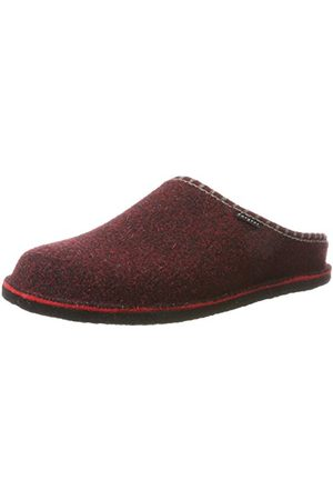 Fargeot CALOUFOLK Uniseks - Volwassenen Pantoffels, bordeauxrood, 46 EU