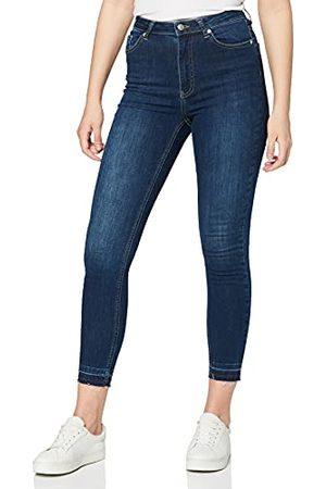 NA-KD Dames Skinny hoge taille Open Hem Jeans