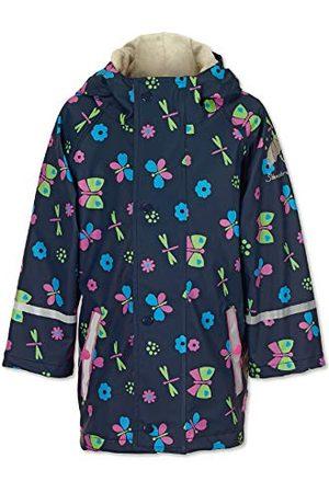 Sterntaler Regenjas voor meisjes, ongevoerd, marineblauw.