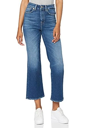 7 for all Mankind Dames Hw Vintage Cropped Boot Jeans