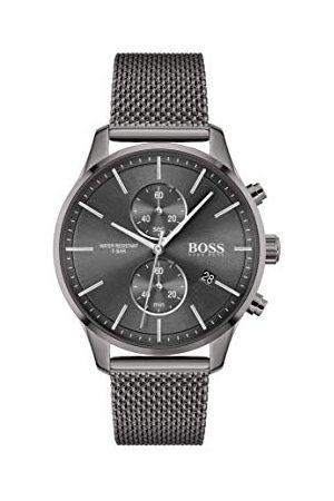 HUGO BOSS Analoog kwartshorloge voor heren met roestvrij stalen armband 1513870
