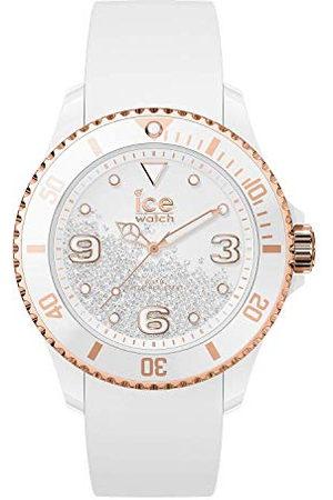 Ice-Watch ICE crystal White rose-gold - dameshorloge met siliconen armband - 017248 (Maat M)