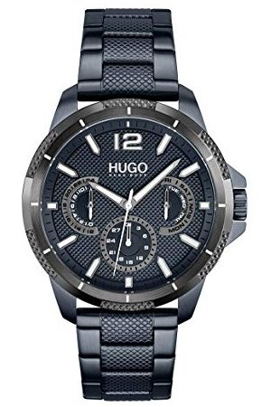 HUGO BOSS Analoog kwartshorloge voor heren met roestvrij stalen armband 1530194