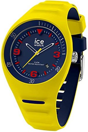 Ice-Watch P. Leclercq Neon yellow - herenhorloge met siliconen amrband - 018946 (Medium)