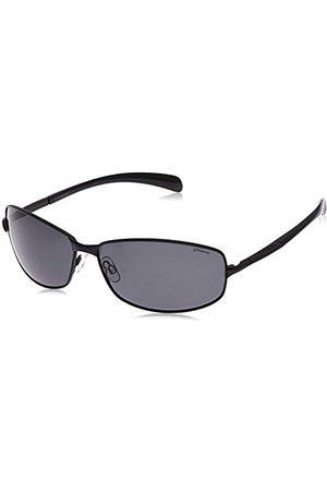 Polaroid P4126 - zonnebril voor heren rechthoekig - metalen frame - gepolariseerd - inclusief beschermdoos