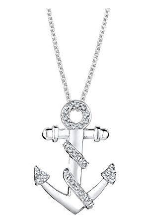 Elli Damen 925 Brillantschliff kristal