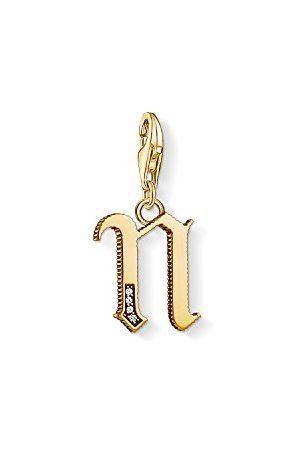 Thomas Sabo Bedelhanger voor dames M letter Charm Club 925 sterling zilver 1619-414-39