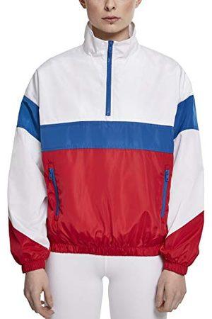 Urban classics Dames windbreaker lichte overjas Ladies Panel Pull-Over Jacket
