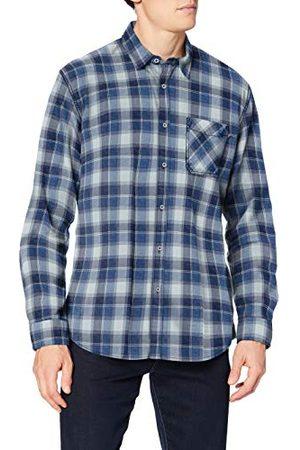 Pioneer Herenshirt met lange mouwen, check hemd met button-down-kraag