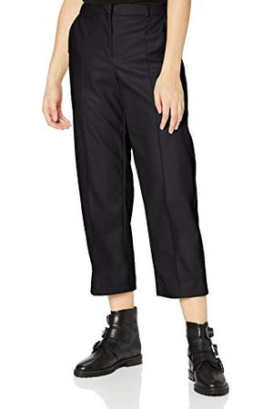 ONLY Dames Onlhera Faux Leather Straight Pnt broek