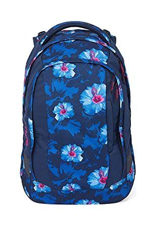 Satch Sleek schoolrugzak - ergonomisch, 24 liter, extra slank - Waikiki Blue - eenheid grootte
