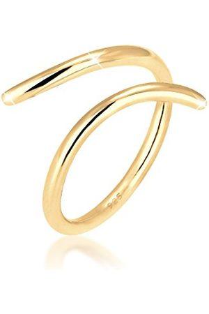 Elli Ringen Dames wikkelring Blogger Statement van 925 sterling zilver