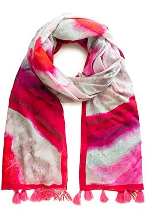 Desigual Dames FOUL_LIQUID STONE sjaal, (Fucsia 3002), One Size (fabrikantmaat: U)
