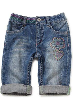 Sanetta Meisjes jeans bermuda normale band 134937