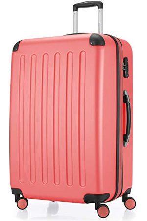 Hauptstadtkoffer SPREE - Harde koffer, trolleykoffer, uitbreidbare reiskoffer, 4 wielen, TSA, 75 cm, 119 liter, koraalrood