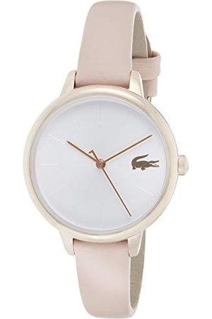 Lacoste Dames analoog quartz horloge met lederen band 2001101