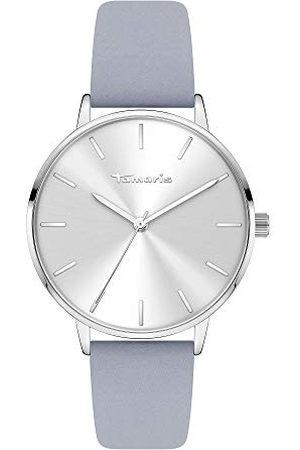 Tamaris Dames analoog kwarts horloge met lederen armband TT-0004-LQ