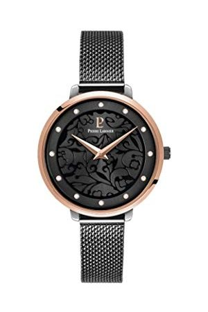 Pierre Lannier Dames analoog kwarts horloge met massief roestvrij stalen armband 045L988