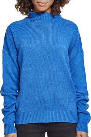 Urban classics Dames Dames Oversize Turtleneck Sweater Sweatshirt