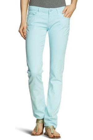 Cross Jeans dames jeans P 464-198 / Scarlet Skinny/Slim Fit (groen) normale tailleband