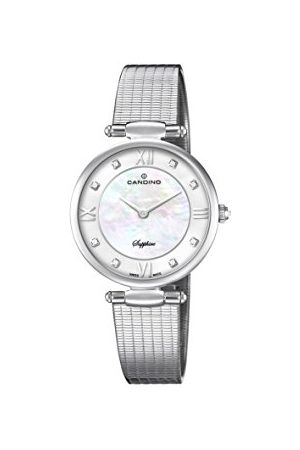 Candino Womens Analoog Klassiek Quartz Horloge met RVS Band C4666/1