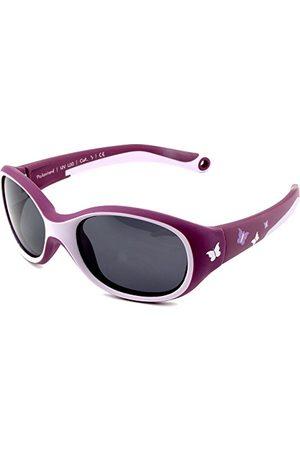 ActiveSol Active Sol KIDS zonnebril | GIRL | 100% UV 400 bescherming | gepolariseerd | onverwoestbaar gemaakt van flexibel rubber | 2-6 jaar | 22 gram [Butterfly].